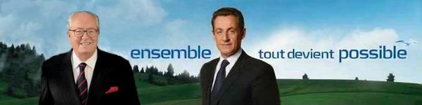 Sarkozy et le Pen, ensemble, tout devient possible title=