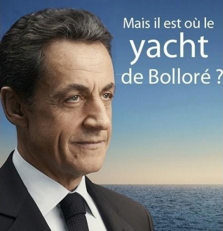 Affiche Sarkozy 2012 revisitée 2